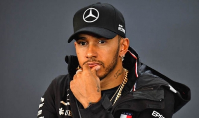 LEWIS HAMILTON VOWS NOT TO EASE OF IN TITLE QUEST