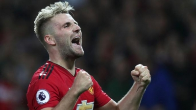 LUKE SHAW AGREES NEW DEAL WITH OLD TRAFFORD