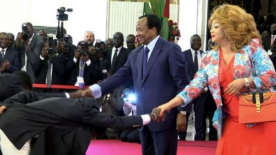 PAUL BIYA RE-ELECTED AS CAMEROON'S PRESIDENT