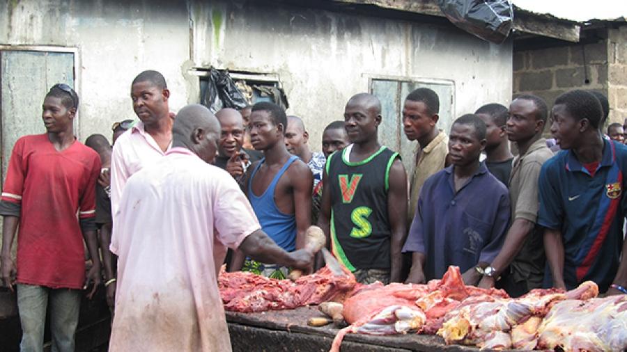 Image result for butcher in nigeria