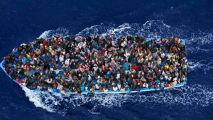 Four African migrants have drowned after their boat sank in the Mediterranean