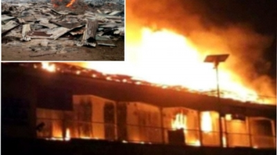 Traders wail as fire guts Timber Market in Port Harcourt