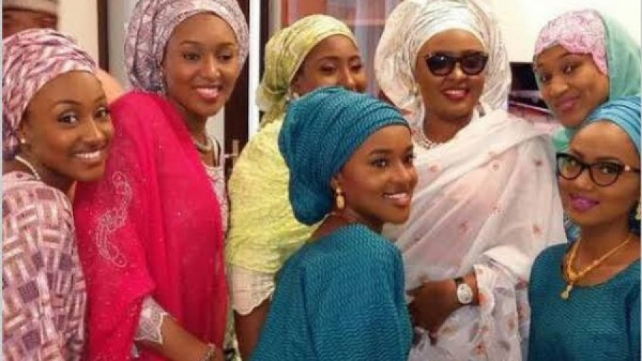 Buhari's daughter reunite with family after self isolation