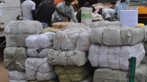 The Nigeria Customs Service has destroyed six container loads of imported contaminated frozen food.