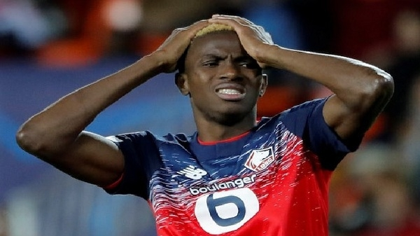 Nigeria and Lille forward Victor Osimhen loses Dad